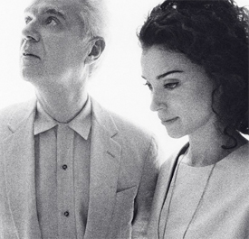 David Bryne and St. Vincent