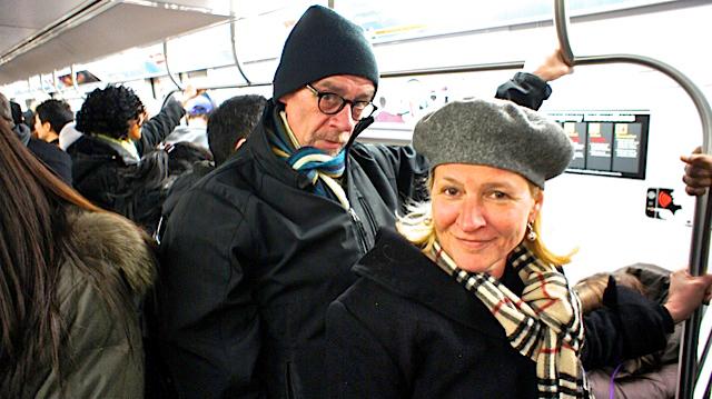 David Carr and Jill Rooney