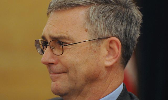 Senate Minority Leader-designate David Hann