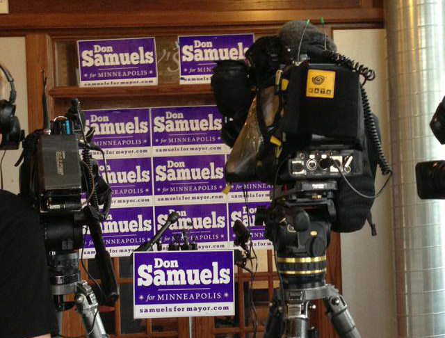 Don Samuels lawn signs