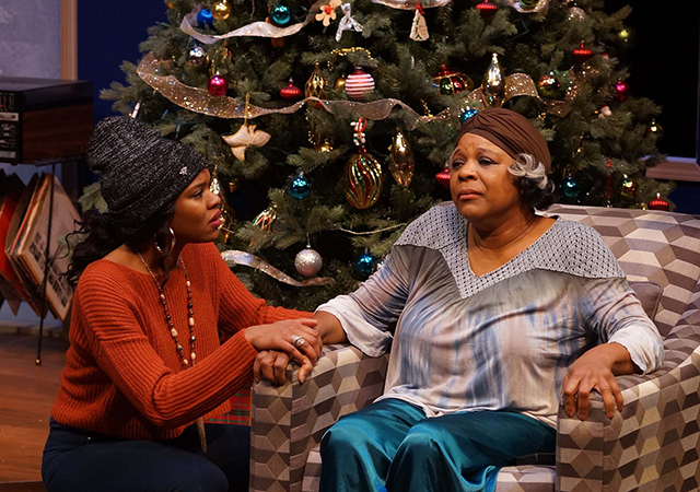 "Jasmine Hughes and Cynthia Jones-Taylor in ""Dot"" at the Park Square."