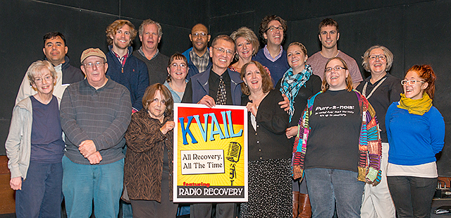 Vail Place club members in last year's production of the Dr. Vail Hour