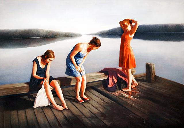 """Efter Badet"" by Karin Broos"