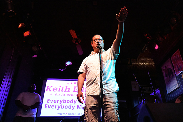 Rep. Keith Ellison won decisively with 50 percent of the vote