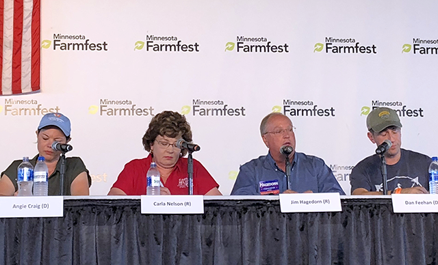 FarmFest's U.S. House forum