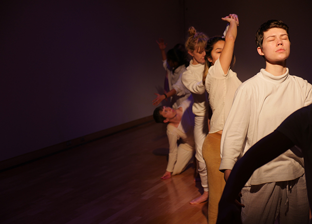 """Each performance of """"felt room"""" lasts 3 hours; come and go as you choose."""