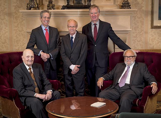 Five St. Paul mayors