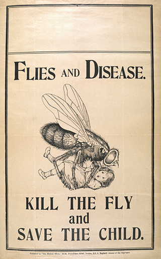 Illustration from a 1920 Medical Officer journal
