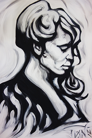 """""""Florence"""" in acrylic by Sean O."""