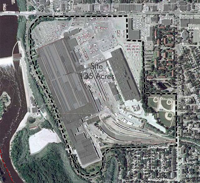 The lot: Ford Plant, Highland Park, St Paul