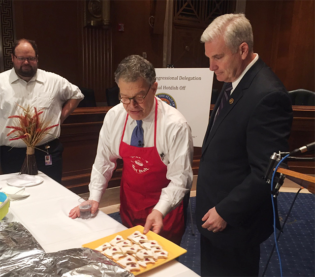 Sen. Al Franken and Rep. Tom Emmer