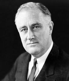 Franklin Delano Roosevelt in 1933