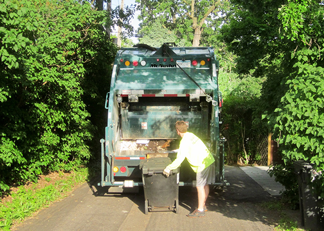 Coordinating garbage collection