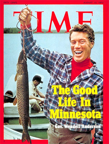 The Good Life in Minnesota Time cover