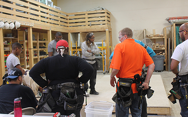 Training class inside the Goodwill-Easter Seals Minnesota facility
