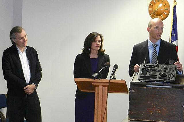 Cam Gordon, Betsy Hodges and Gary Schiff