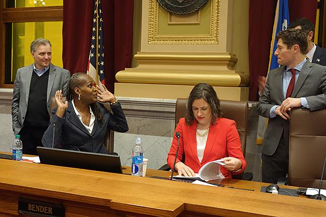 Minneapolis City Council meeting