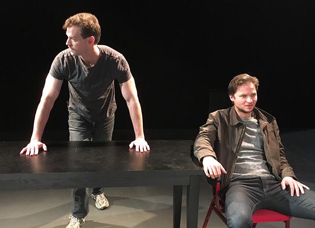 Peter Christian Hansen and Dustin Bronson