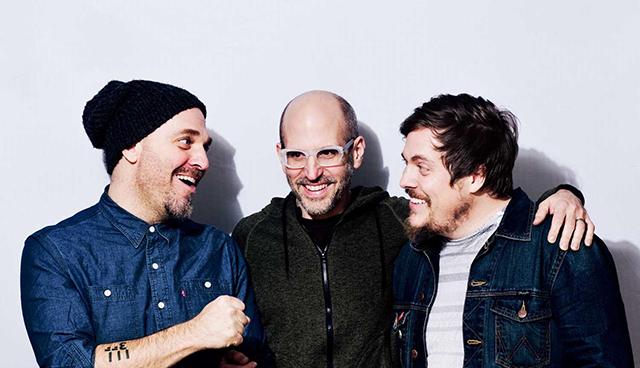 Dave King, Erik Fratzke and Michael Lewis