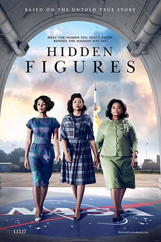 """Movie poster for """"Hidden Figures"""""""
