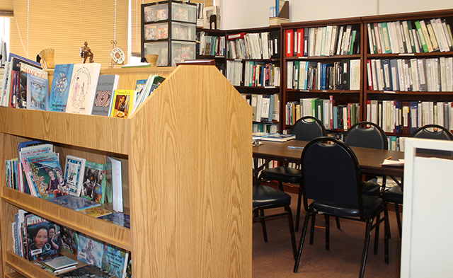 The Hmong Cultural Center library