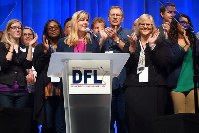 House DFL Leader Melissa Hortman