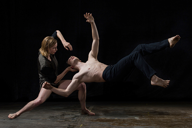 Emilie Leriche and Kevin J. Shannon of Hubbard Street Dance Chicago.