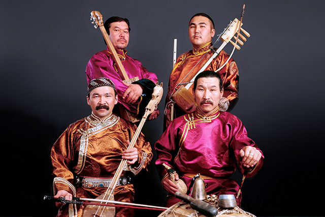 Huun Huur Tu performs Saturday night at the Dakota.