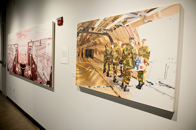 """""""Navigating the Aftermath"""" of the Iraq war, an exhibit"""
