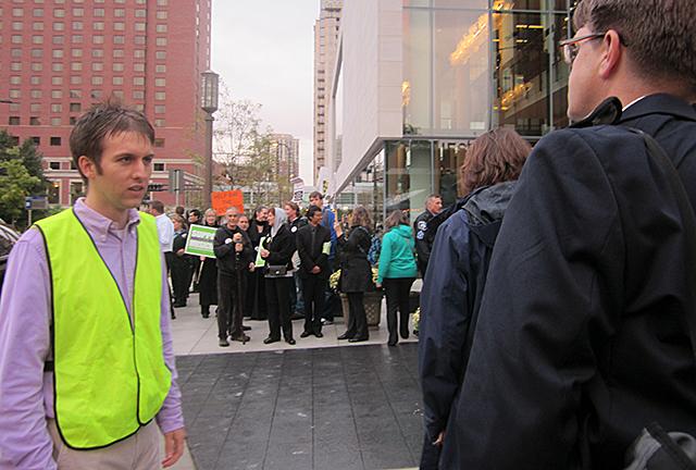 Keeping people off the sidewalk