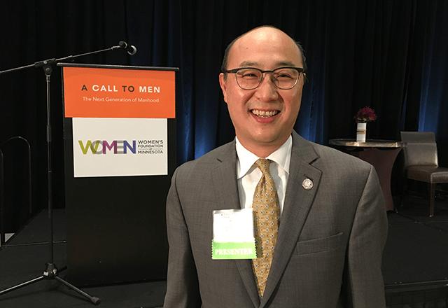 Ramsey County Attorney and Women's Foundation of Minnesota trustee John Choi