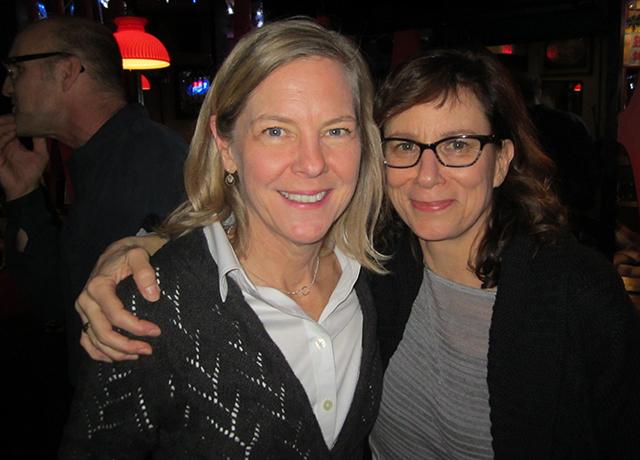 Teri Mach and Connie Nelson