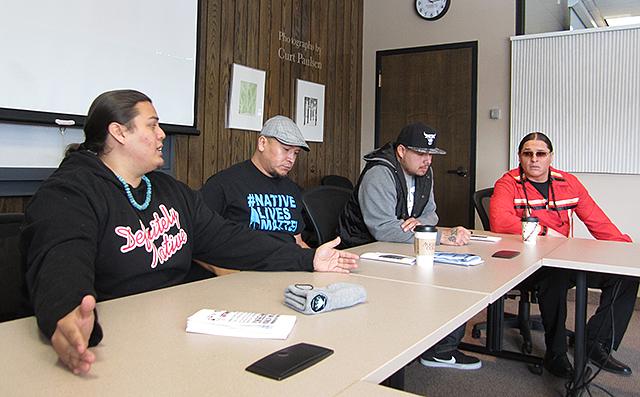 Native Lives Matter panel