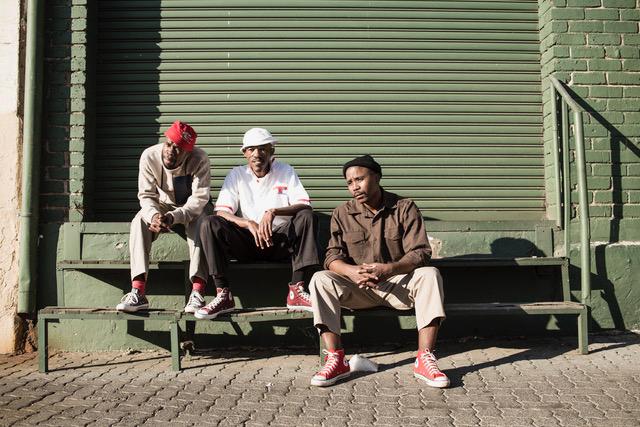 Vusi Mdoyi, Sicelo Xaba and Sello Modiga