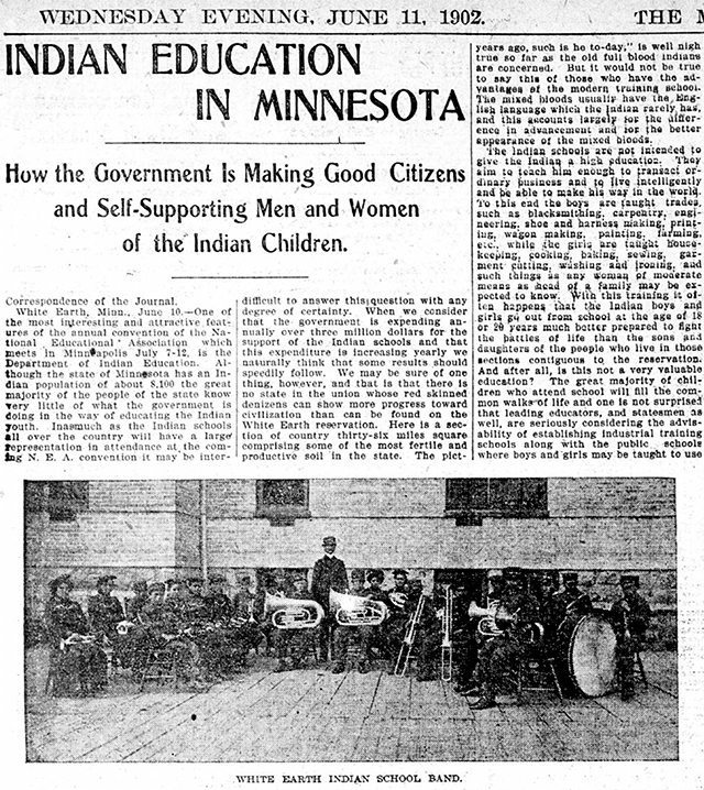 A detail of the June 11, 1902, edition of the Minneapolis Journal