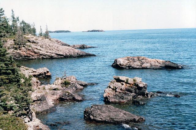 Isle Royal shore line