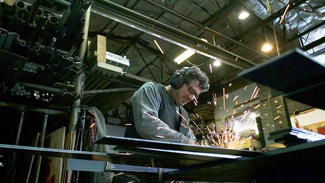 Sculptor James Brenner