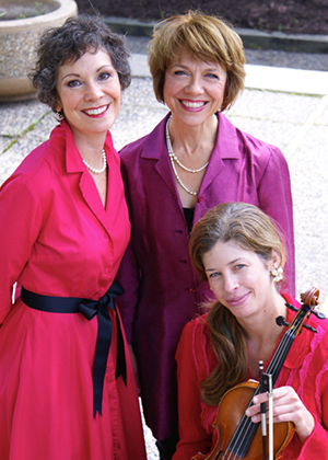L to R: Maria Jette, Sonja Thompson and Jill Moser