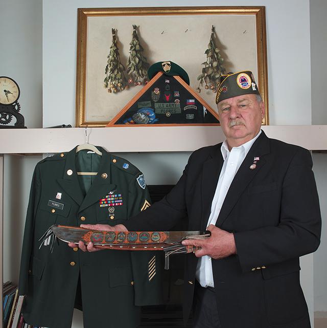 Commander John Flores