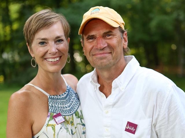 Judy Erdahl and her husband, Steve