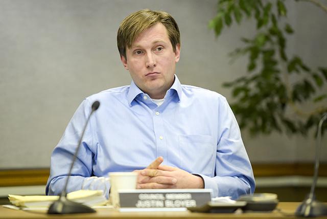 Council Member Justin Bloyer
