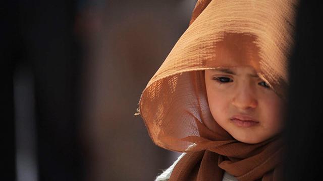 """A still from Sara Ishaq, """"Karama Has No Walls"""" (2012)."""