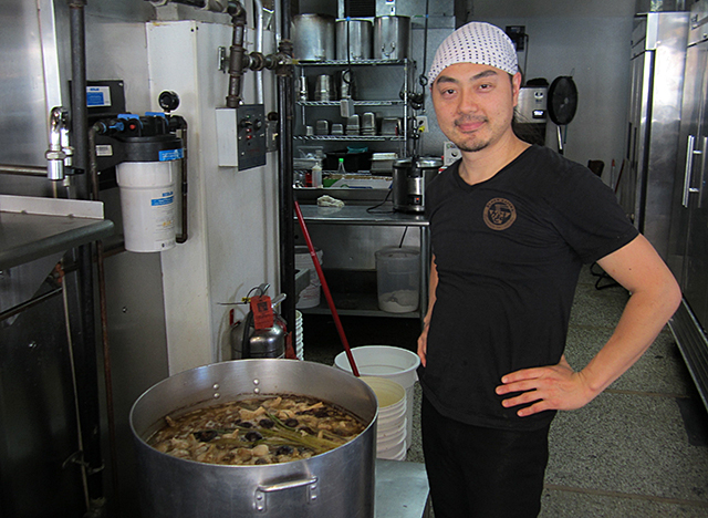 Matthew Kazama opened Ramen Kazama in November 2015