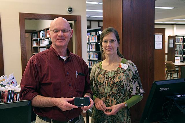 Mark Kile and Margo Bock