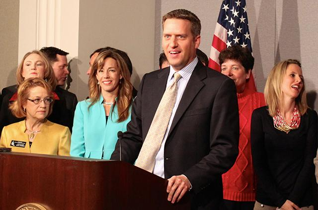 Then-Minority Leader Kurt Daudt