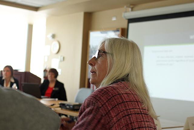 Legislative Salary Council member Deborah Olson.