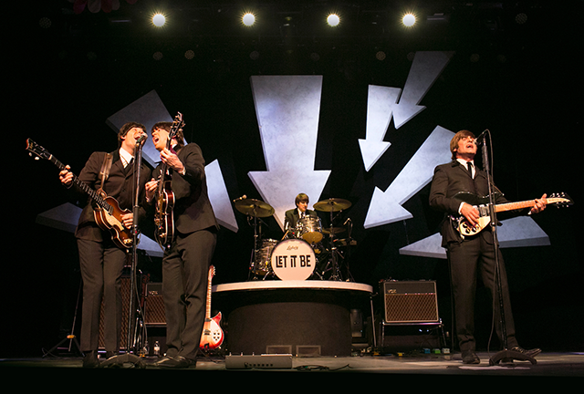 """Let It Be"" tells the history of the Beatles in 40 of their greatest hits."