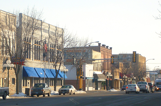 Little Falls, the county seat