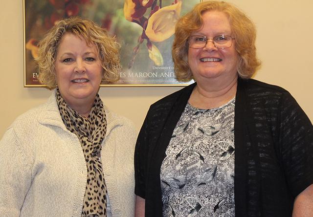 Assistant Professor Loran Ruskin, Program Director Janice Conway-Klaassen