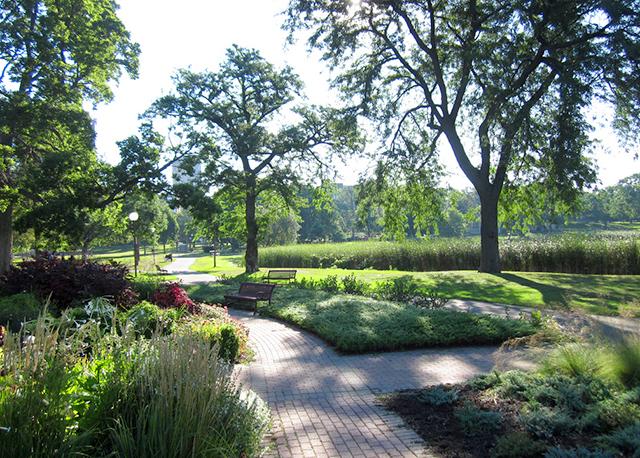 Loring Park in Minneapolis
